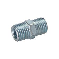 Druckluft Doppelnippel 2er-Pckg. 1/4 Zoll BSP Verbinder Neu Silverline