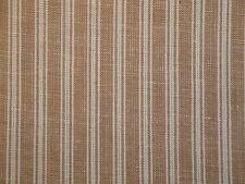 Ticking Stripe Fabric | Wheat Ticking Homespun Fabric | Primitive Stripe Fabric