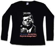 JFK PRAY FOR EASY LIVES DAMEN LANGARM T-SHIRT John USA Liberty F Dallas Kennedy