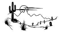 CACTUS DESERT  DECAL VINYL GRAPHIC TRAILER VAN  RV MOTOR HOME CAMPER 5TH WHEEL