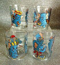 1c423e0fde NUTELLA FERRERO BICCHIERE SERIE ELEFANTAO 1999 ITALIA GLASSES
