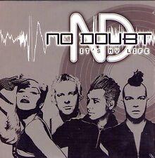 CD CARTONNE CARDSLEEVE NO DOUBT (GWEN STEFANI) IT'S MY LIFE 2T DE 2003