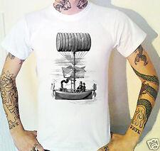 Steampunk Airship T-Shirt Steam Punk Victorian Victoriana