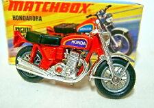 Matchbox No.18B Hondarora early version with chrome handlebar