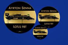 Ayrton Senna Lotus 98T 1985 F1 Sticker - Scuderia GP