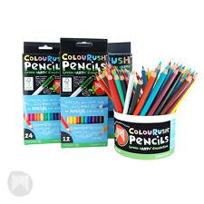 Micador ColouRush Coloured Pencils - 100% FSC - Set of (12, 24, 36) Available