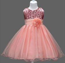 Festliches Abendkleid Mädchenkleid Blumenmädchen Feier Kommunion Gr. 98-134