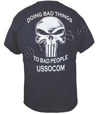 SOCOM Navy Seals Delta Force Spec Ops Special Forces Delta T shirt S-3X BLACK