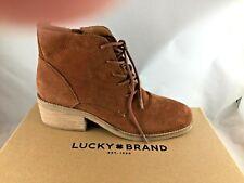 Lucky Brand Women's Tamela Fashion Boot - Toffee - Embossed Nubuck