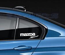 Mazda Sport Decal Sticker logo JDM Mazdaspeed RX-7 RX-8 Miata MX-5 CX-9 Pair