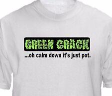 Green Crack T shirt Weed Strain - Cannabis Marijuana Leaf Vape Rig 420 Pot Shirt