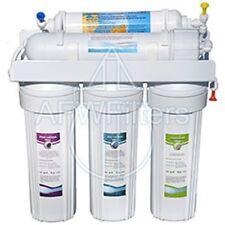 5 Stage RO Reverse Osmosis Drinking Water Filter Booster Pump Free Flowlok !!