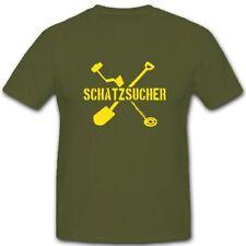 Schatzsucher Metalldetektor Schaufel Buddeln Schatz Hobby - T Shirt #3985
