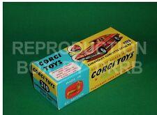 CORGI #310 Chevrolet Corvette Sting Ray-riproduzione Box da drrb