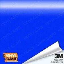 3M 1080 G337 GLOSS BLUE FIRE Vinyl Vehicle Car Trim Wrap Film Sheet Roll Sticker