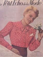 Le Petit Echo de la Mode N° 18  du 04/05/1941 Journal Naisance Robes Mariée