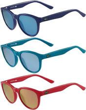 Lacoste Women's Vintage Round Sunglasses w/ Mirror Lens - L3616S (424/467/830)