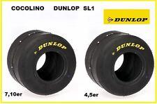 DUNLOP SL1 Reifen Kartreifen 4.50 oder  7.10  slics  tyres