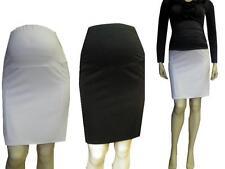 Maternity Pregnancy Pencil Elegant Mini Skirt S M L XL XXL size UK 8 10 12 14 16