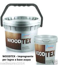 WoodTex Impregnante idrorepellente ANTITARLO per legno, interni ed esterni