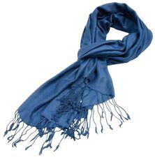 Pashmina sciarpa foulard uomo donna unisex 70x180 cm.Viscosa 100%  5 colori