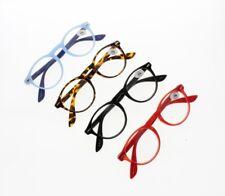 4 Colors Unisex Retro Classic Oval Reader Reading Glasses +1.00 ~ +3.50 New