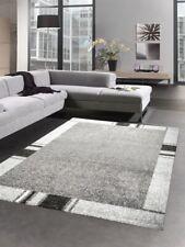 Carpet modern living room rug low pile carpet gray