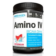 PES AMINO IV Amino Acid BCAA Electrolytes Intra-Workout 30 Servings PICK FLAVOR