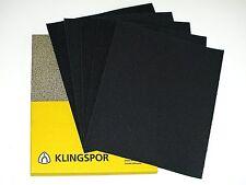 KLINGSPOR Wet and Dry sand paper sanding SANDPAPER mixed YOU CHOOSE UK STOCK