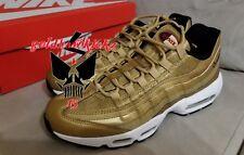 Nike Air Max 95 Premium QS Gold Bullet 918359 700 Metallic Gold Varsity 3m