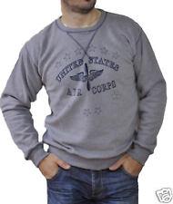 NAVY Sweat US ARMY Sweatshirt AIR FORCE new S M L grey