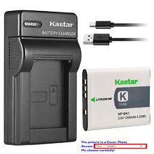 Kastar Battery Slim Charger for Sony NP-BK1 BC-CSK & Sony Cyber-shot DSC-S980