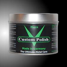 CUSTOM POLISH MICRO 400g Chrom Aluminium VA Paste Chrompaste Alupaste Politur
