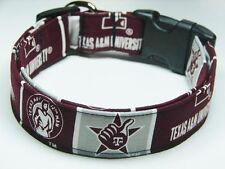 Texas A&M University College Football Dog Pet Collar Small Medium Large