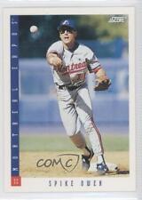 1993 Score #554 Spike Owen Montreal Expos Baseball Card