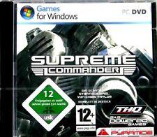 Supreme Commander-completamente en alemán! - nuevo & inmediatamente