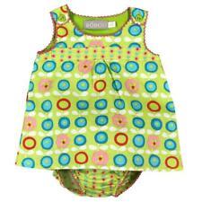 Vestido bebé Todo Estampado Verde para niña gr. 56 68 74 80 von Boboli