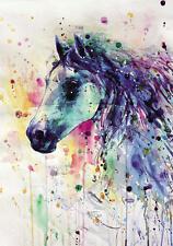Modern Home Decor HD Prints oil painting on canvas wall art Fantasy horse NTD171