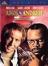 Amos And Andrew (DVD, 2001/1993 Film)Nicolas Cage, Samuel L. Jackson*SHIPS FREE*