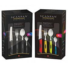 16pc Scanpan Spectrum Cutlery Set Fork/Knife/Spoon/Teaspoon Tableware Dinnerware