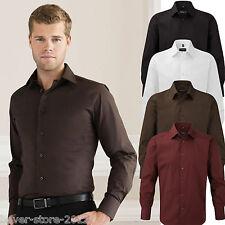 Russell hombre camisa manga larga talla especial entallada S M L Xl Xxl 3xl