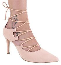 Chaussure femmes pointe chiusa chaussure talon lacets tissé chaussure femmes