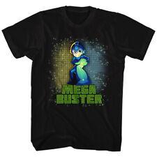 Mega Man Mega Buster Gamer Licensed Adult T Shirt