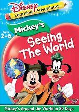 Mickey's Seeing The World - Around The World In 80 Days (DVD, 2005)