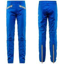 K-WAY Pantalone UOMO ALEN MICRO TWILL KWAY IMPERMEABILE Aut/Inv Blu Royal 618vkx