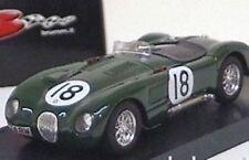 BRUMM R358 R358B JAGUAR C TYPE diecast model racing car  Le Mans 1:43rd scale