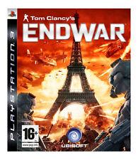 Tom CLANCY'S END WAR (PS3), muy bueno Playstation 3, Playstation 3 Video Juegos