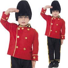 RAGAZZI Busby Granatiere Queens Guardia Costume Reale Palace Vestito Smiffys
