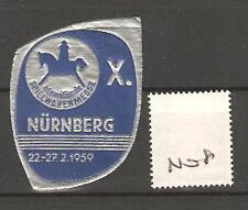 CINDERELLA -N08- GERMANY - SPIELWAREN NURNBERG - 1959