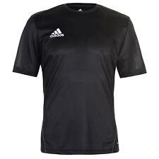 NEW 2018  Mens Adidas 3 Stripe Estro Coref T-Shirt Black/White  S--2XL